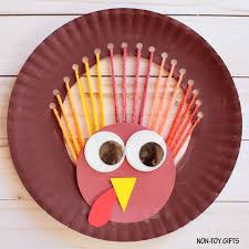 turkey plate craft yarn and paper plate turkey craft non gifts