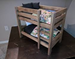 Bunk Bed Nightstand Doll Bunk Bed Etsy