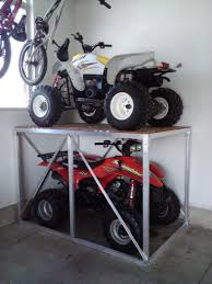 motocross bike lift any interesting ways to store atvs dirt bikes page 2