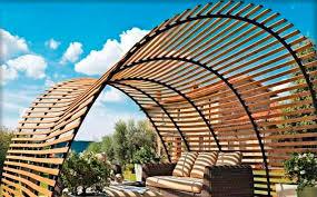 Roof Trellis 40 Pergola Design Ideas Turn Your Garden Into A Peaceful Refuge
