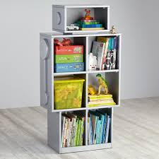4 Sided Bookshelf Robot Bookshelf The Land Of Nod