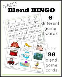 free blend bingo word game