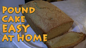pound cake easy at home from scratch youtube