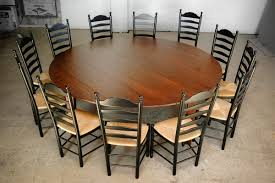 72 round rustic dining table stunning home design