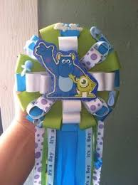 monsters inc baby shower ideas monsters inc baby shower corsage i it for my future