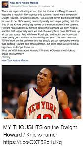 Dwight Howard Meme - new york knicks memes published by tommy rothman i just nowi there