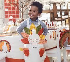 thanksgiving apron pottery barn