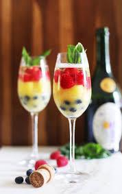 rainbow cocktail recipe fruit mimosa