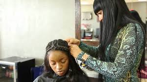 sew in hair salon columbus ga vixen sew in tutorial youtube