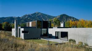 idaho house sun valley residence allied works
