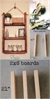 Hanging Bathroom Shelves 50 Diy Shelves Build Your Own Shelves Diy Crafts