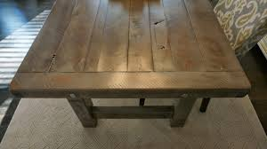 slate dining room table clayton farm table custom handcrafted rustic trades furniture