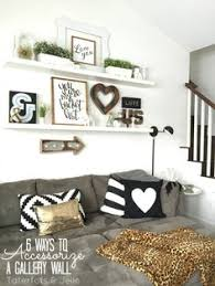 IDEAS For Small Living Spaces Walls Room And Inspiration - Wall decor living room