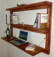 How To Build A Wall Mounted Desk The 25 Best Floating Desk Ideas On Pinterest Bureaus Floating