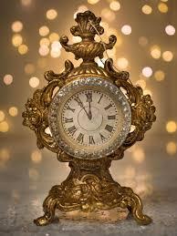 clock ornament p o s h