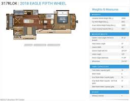 eagle 5th wheel floor plans j820 2018 jayco eagle 317rlok for sale in bourbon mo