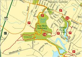Map Portland Maine by Fore River Sanctuary Mountain Bike Trail In Portland Maine