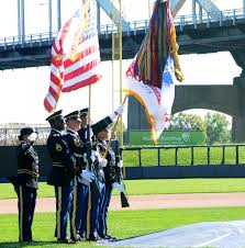 Color Guard Presentation Of The Flags Rock Island Arsenal Service Members March In 9 11 Parade Article