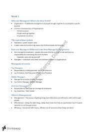 middle management examples lecture notes bba102 principles of management thinkswap