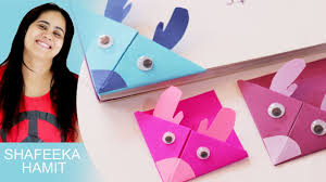 diy how to make monsters paper bookmark craft tutorial craft for