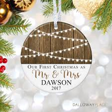ornaments wedding ornament personalized just