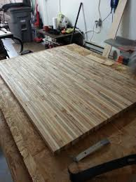 pallet table pallets butcher blocks and counter top pallet table