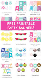 25 free printable banner ideas printable
