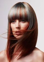 hair frosting to cover gray best 25 grey hair with red highlights ideas on pinterest dark