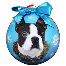 boston terrier ornament pet supplies