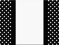 black and white polka dot ribbon black and white polka dot background with ribbon stock image image