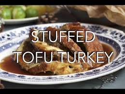 stuffed tofu turkey gluten free low vegan recipe