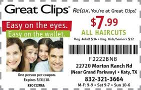 are haircuts still 7 99 at great clips great clips coupon by indoormedia
