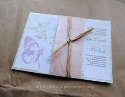 Do It Yourself Wedding Invitations The 25 Best Inexpensive Wedding Invitations Ideas On Pinterest
