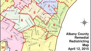 Albany Map Minority Majority Redistrict Fight Almost Over In Albany County
