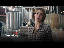 actress in capitol one commercial2015 capital one s brewery commercial commercial society