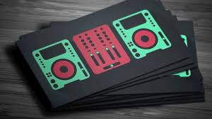 graphicriver digital trends flat dj business card template youtube