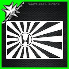 rising sun honda logo outlaw custom designs llc