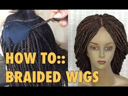 braided extensions braided wig 5 ways to attach extensions to wig cap