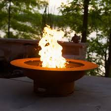 Firepit Gas Saturn Firepit Gas Or Propane Heat Cool