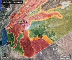 Syria Situation Map by South Syria Map As Of 20 05 17 Syriancivilwar