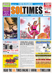 sol times newspaper issue 204 costa blanca edition by nigel judson