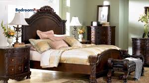 Ashley Bedroom Set With Marble Top Ashley North Shore Panel Bed Bedroom Set Sale Youtube