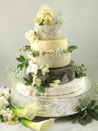wedding cake made of cheese cheese wedding cake or tower to feed 110 mixed cake x