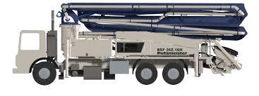 36z meter truck mounted concrete boom pump boom pumps