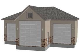sdsg409 44 u0027 x 44 u0027 x 14 u0027 rv garage plans blueprints construction