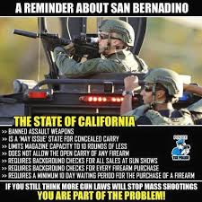 California Meme - san bernardino shooting meme reveals why gun laws don t work