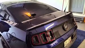 2010 s550 tail lights 2012 to 2013 mustang taillight conversion youtube
