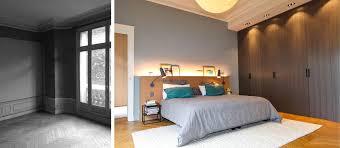 chambre architecte rénovation d un appartement haussmannien de 230m2 créateurs d