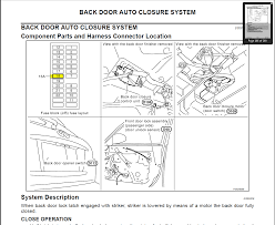 2005 infiniti fx35 fuse box diagram 2005 wiring diagrams collection