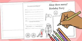 create your own birthday card design your own party invitations gangcraft create your own